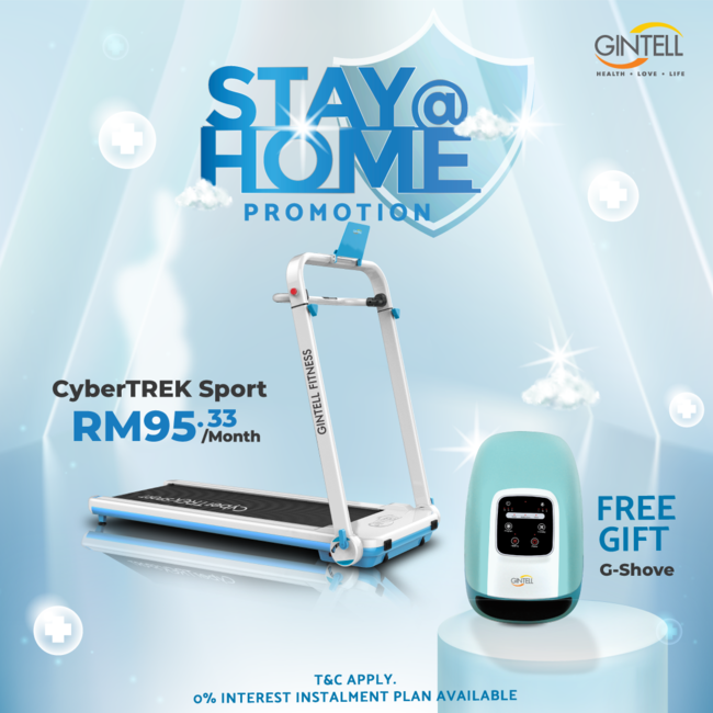 CyberTREK Sport Treadmill FREE G-Shove Hand Beauty Massager