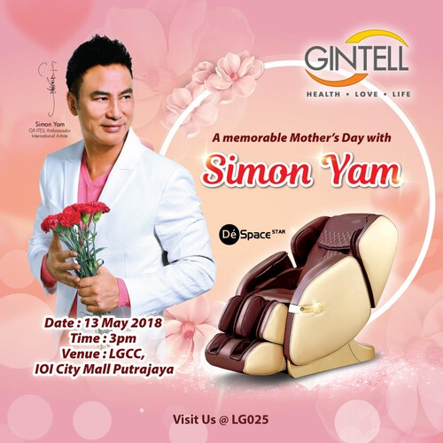 Simon Yam 任达华 Mother's Day Event 2018
