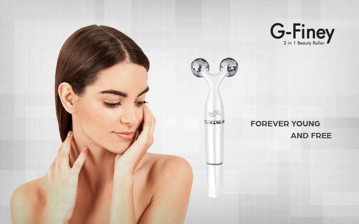 Gintell G-Finey 2 in 1 Beauty Roller