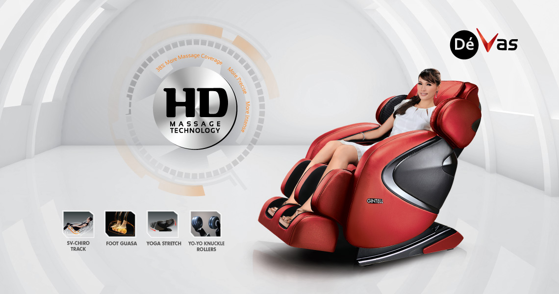Gintell DéVas HD Massage Chair