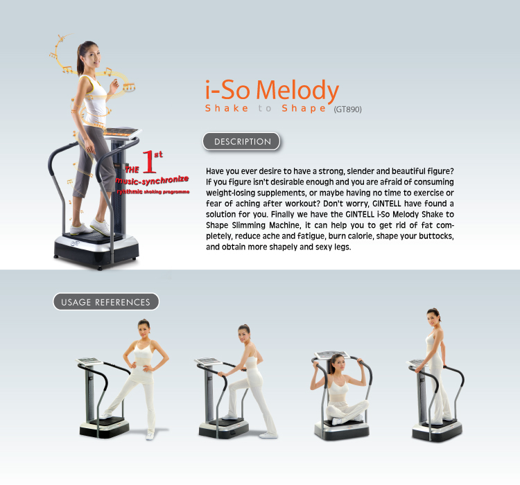 Gintell i-So Melody Shake to Shape Slimming Machine