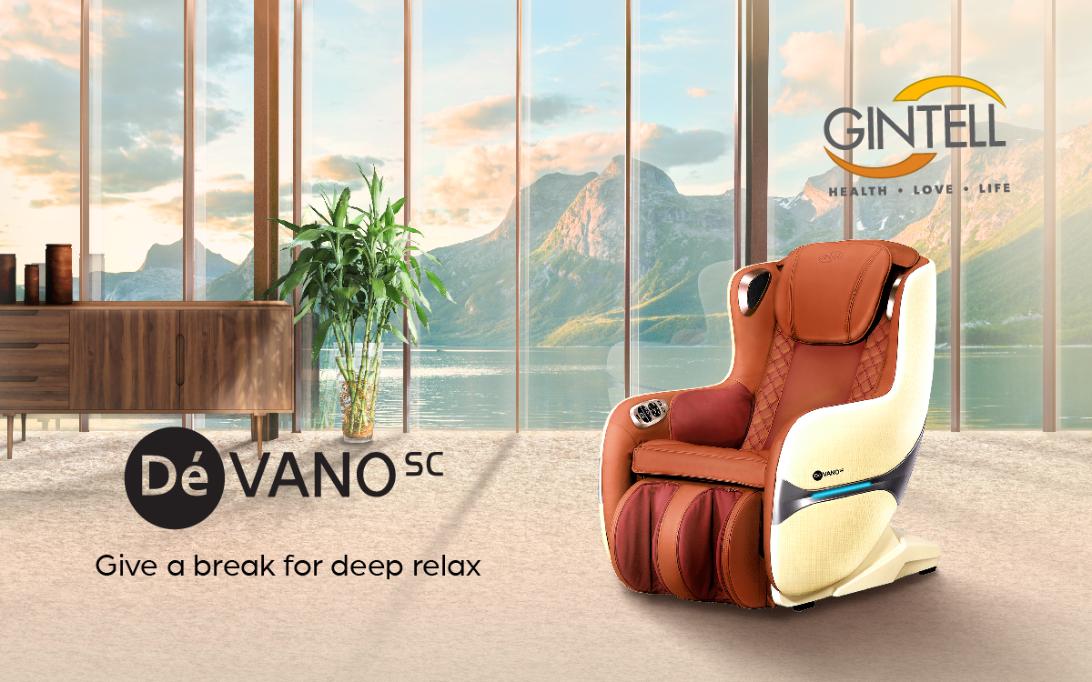Gintell DéVano SC Queen Massage Chair