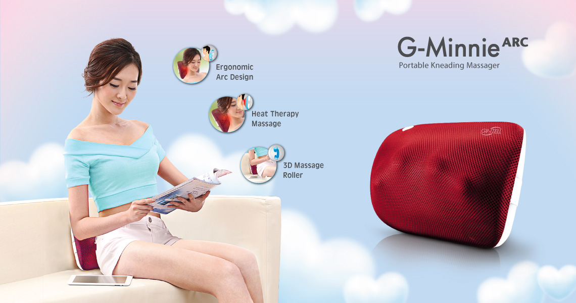Gintell G-Minnie Arc Portable Kneading Massager