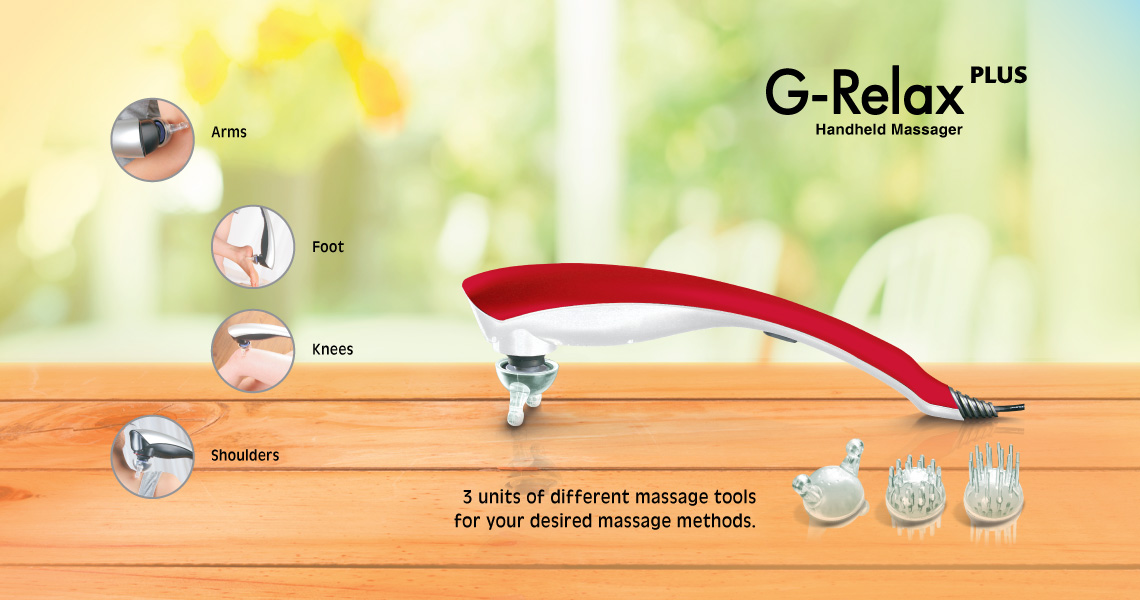 Gintell G-Relax Plus Handheld Massager