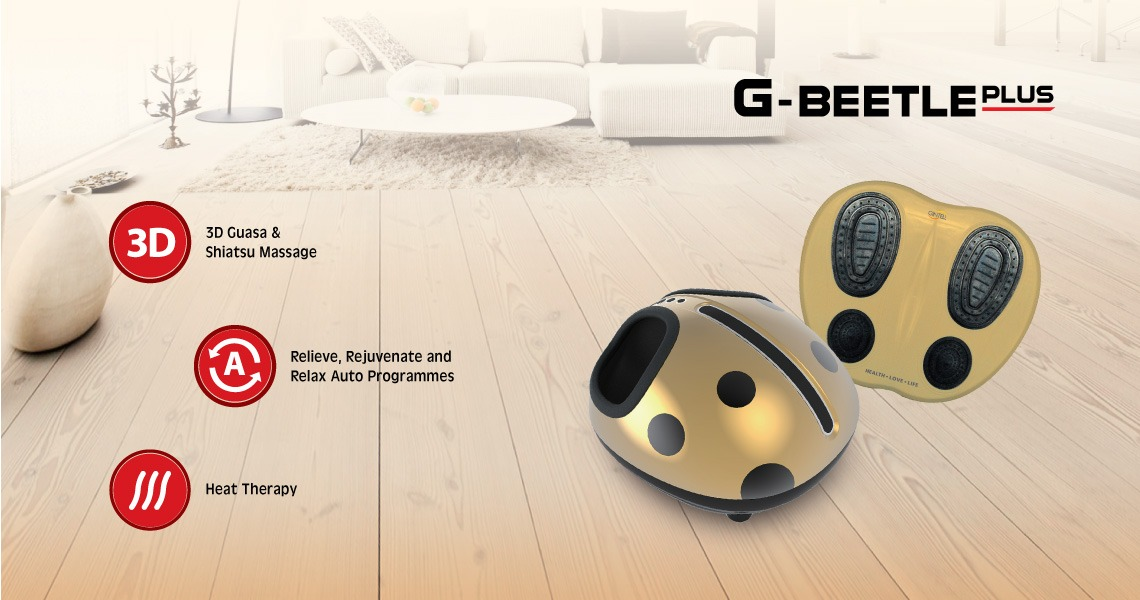 G-Beetle Plus Foot Massager with Tens Pad